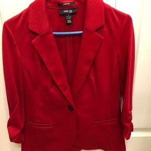 Red Style&co blazer new